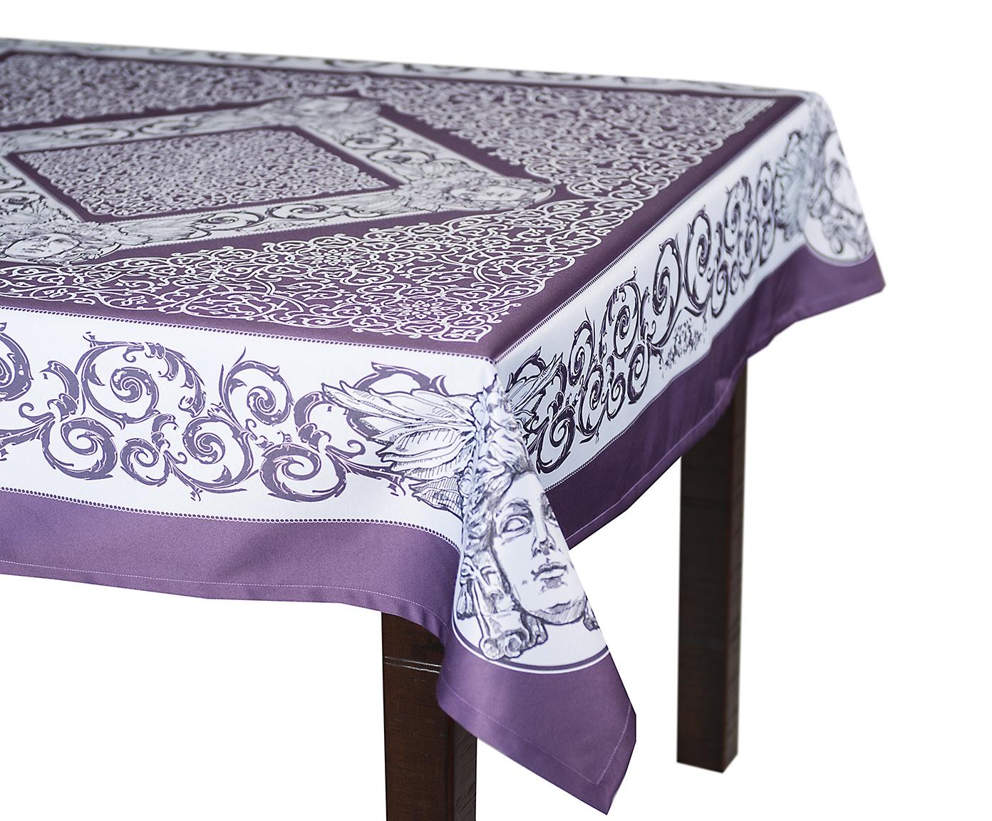 Скатерть Blonder Home CHRONOS, фиолетовый цена