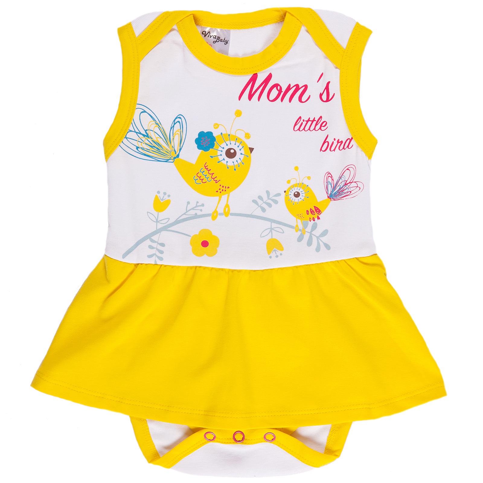 Боди Viva Baby viva baby viva baby платье для девочки сиреневое