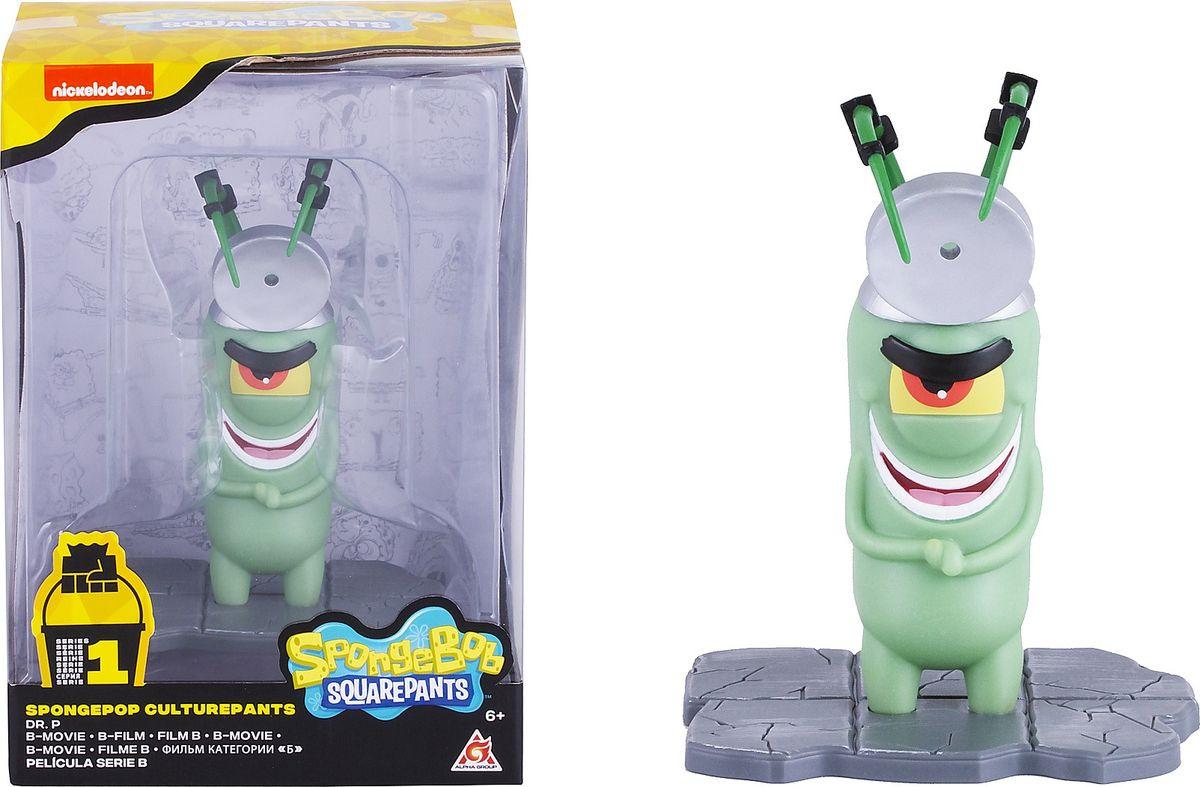 Фигурка SpongeBob Доктор П, EU690706 spongebob squarepants pvc anime figures 8 figure set