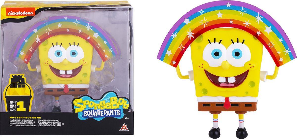 Фигурка SpongeBob Спанч Боб радужный, EU691001 мягкая игрушка spongebob спанч боб со звуковыми эффектами eu690903