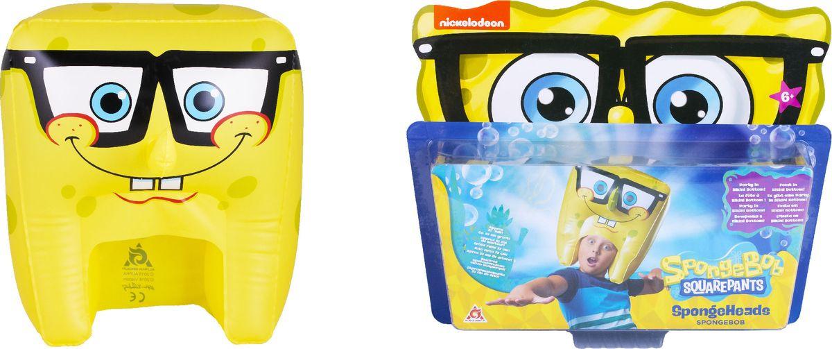 Шляпа надувная SpongeBob Спанч Боб улыбается, EU690605 мягкая игрушка spongebob спанч боб со звуковыми эффектами eu690903