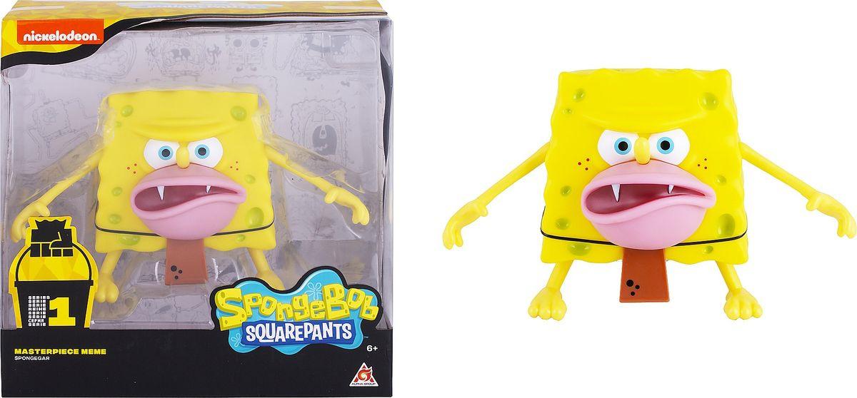 Фигурка SpongeBob Спанч Боб грубый, EU691002 мягкая игрушка spongebob спанч боб со звуковыми эффектами eu690903