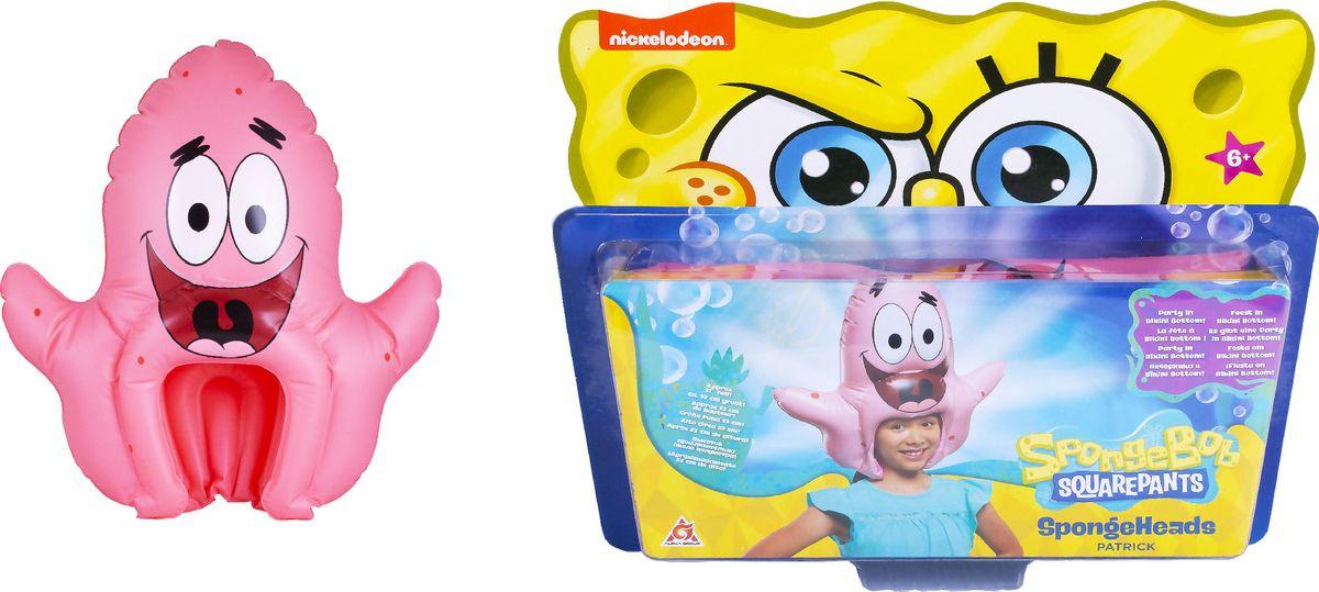 Шляпа надувная SpongeBob Патрик, EU690602 spongebob squarepants pvc anime figures 8 figure set