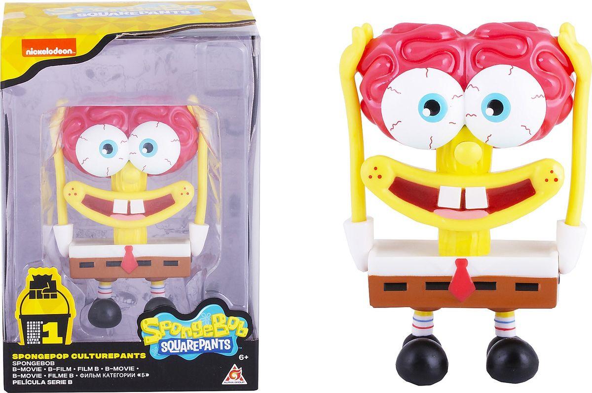 Фигурка SpongeBob Спанч Боб мозг, EU690705 мягкая игрушка spongebob спанч боб со звуковыми эффектами eu690903