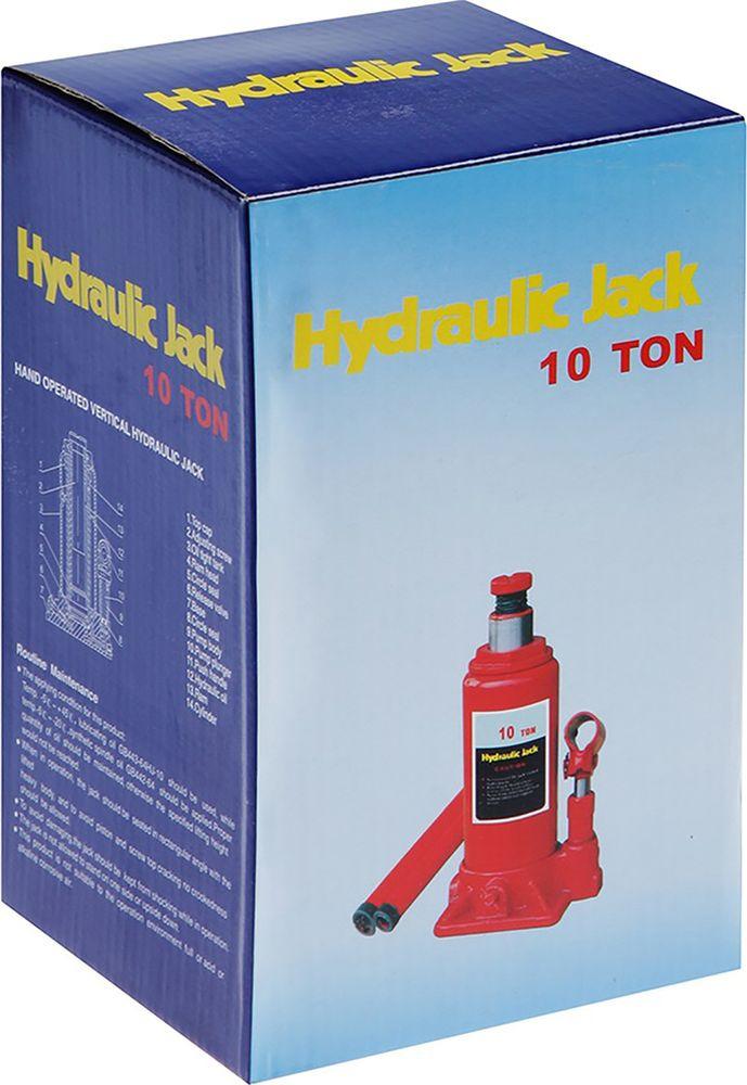 Гидравлический домкрат LOM, бутылочный, 10 т, высота подъема 181-370 мм, 1652563 LOM