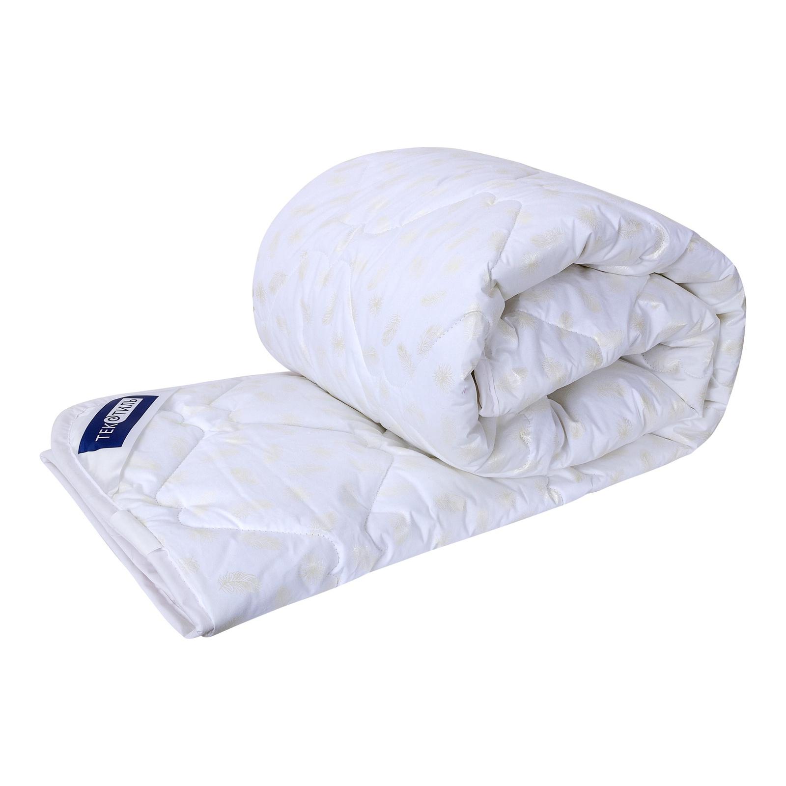 Одеяло ТекСтиль Лебяжий пух, 170х205 одеяла la prima одеяло бабочки цвет голубой 170х205 см