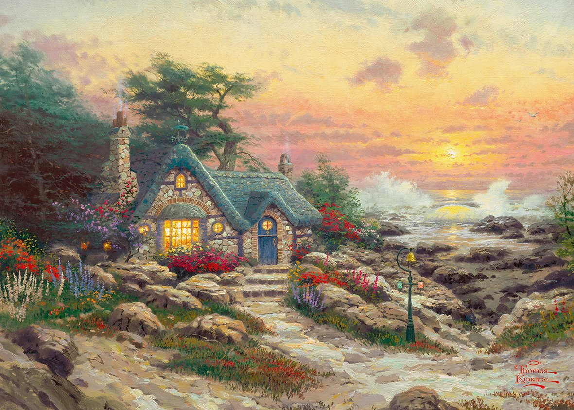 Пазл Gibsons Cottage by the Sea macomber d cottage by the sea