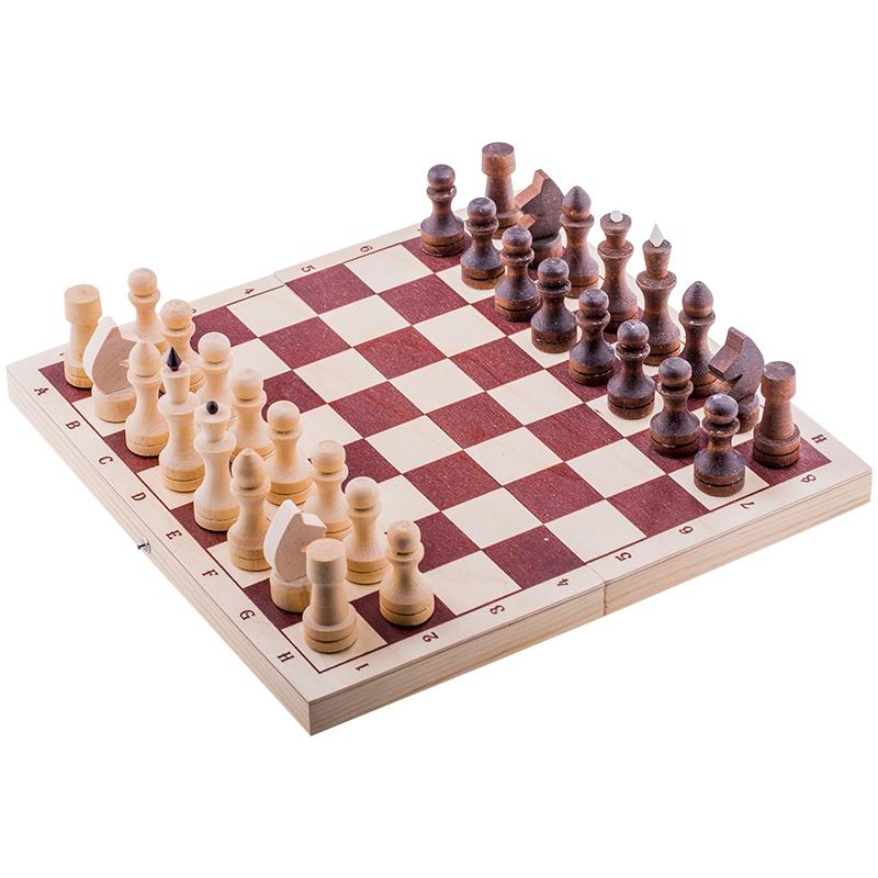 Шахматы Орловская ладья турнирные парафинированные с доской шахматы орловская ладья походные орлов