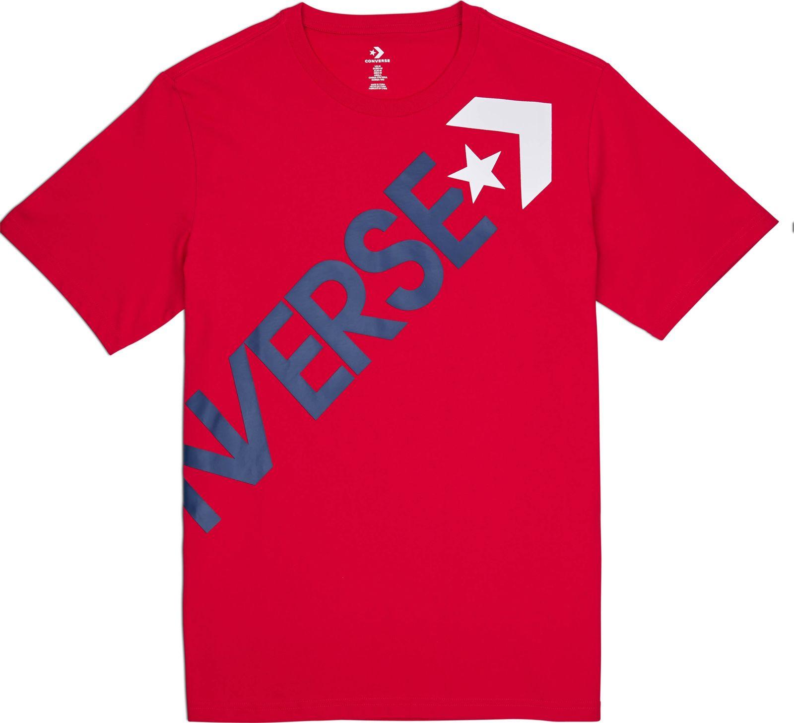 Футболка Converse Cross Body Tee water color criss cross back tee