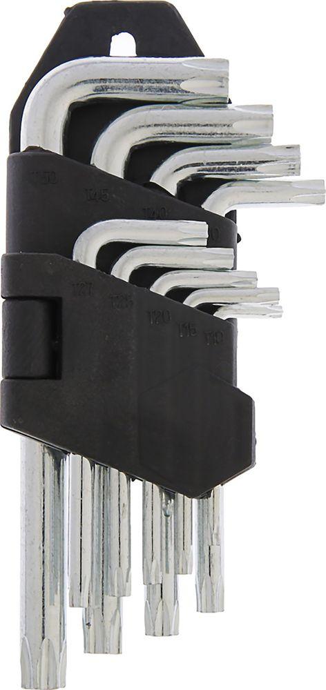 Набор TORX ключей LOM Tamper, T10 - T50, 2354389, 9 шт набор трубчатых ключей fit 10 шт