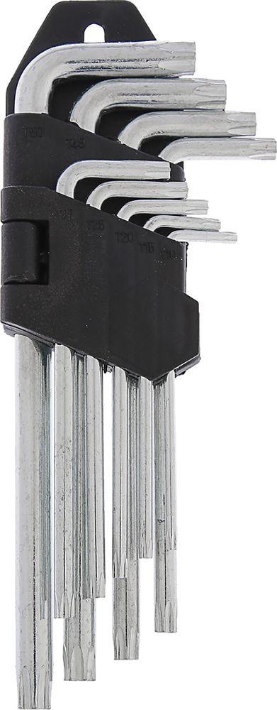 Набор TORX ключей LOM, удлиненные, T10 - T50, 2354390, 9 шт
