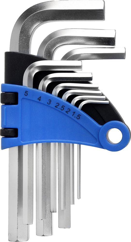 Набор шестигранных ключей Tundra Comfort, 1,5 - 10 мм, 2354391, 9 шт набор инструмента tundra comfort 881878