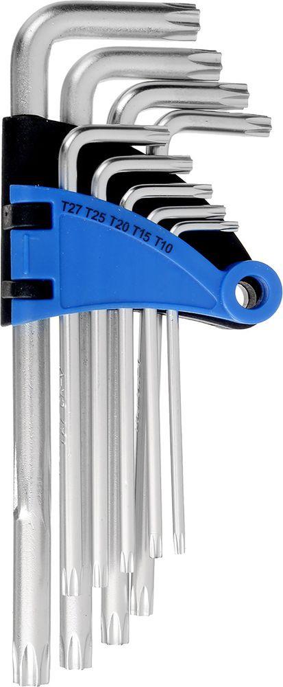 Набор ключей Tundra Comfort, удлиненные, T10 - T50, 2354396, 9 шт