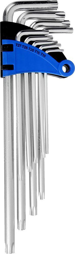 Набор ключей Tundra Comfort, длинные, T10 - T50, 2354397, 9 шт
