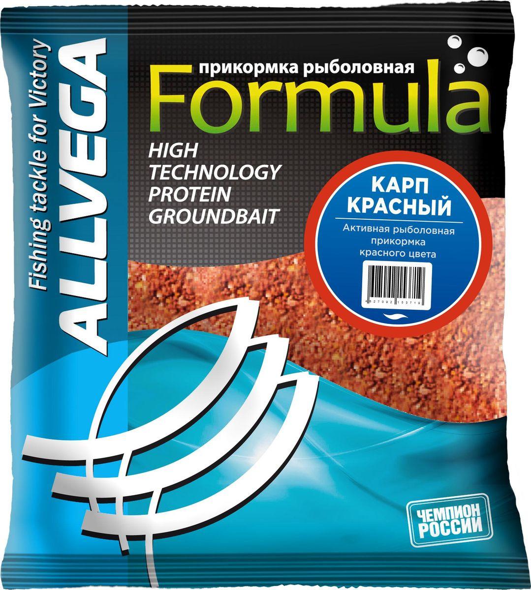 Прикормка для рыбалки Allvega Formula Red Carp Красный карп, 0,5 кг