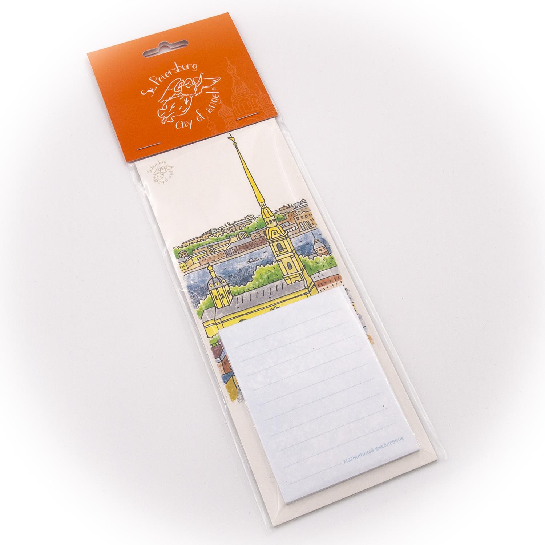 Бумага для заметок С Минимакс Петропавловская Крепость, 32 минимакс ежедневник на магните 7 5 18см дворцовый мост петропавловская крепость
