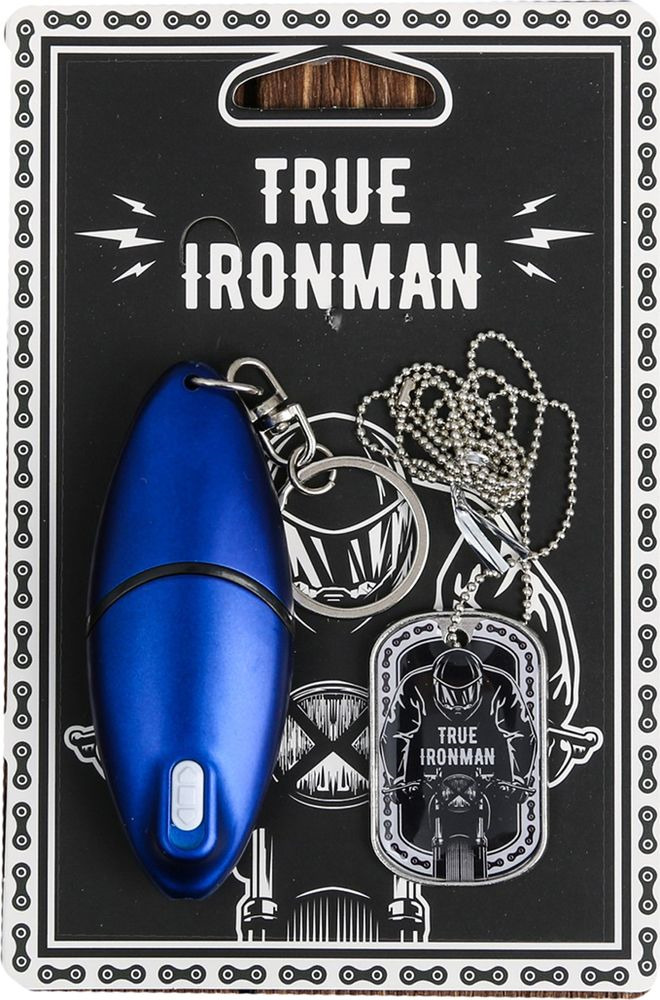 Брелок-мультитул True Ironman + Жетон, 3678411 брелок мультитул для настоящего мужика 3821251