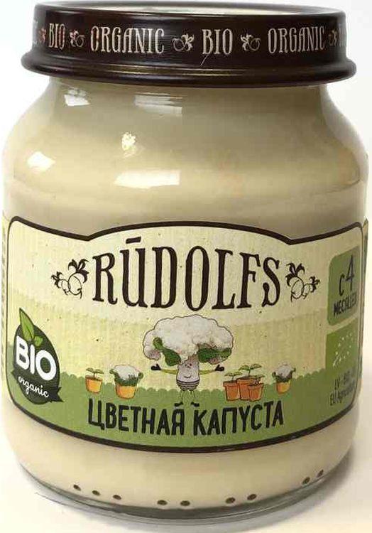 Пюре для детей Rudolfs Цветная капуста, 120 г
