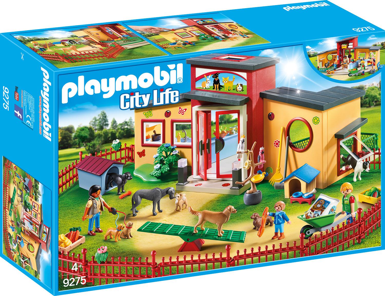 Пластиковый конструктор Playmobil Отель для животных Отель Крошечные Лапки, 9275pm отель для влюбленных египет