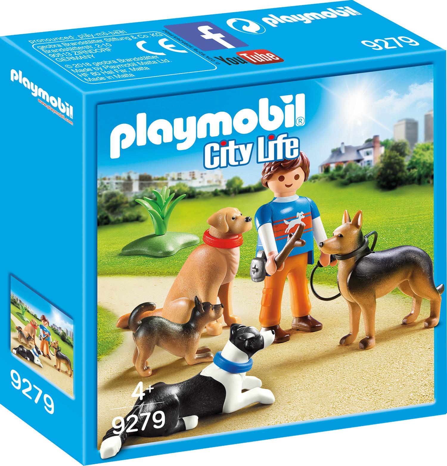 Пластиковый конструктор Playmobil Отель для животных Тренер собак, 9279pm отель для влюбленных египет