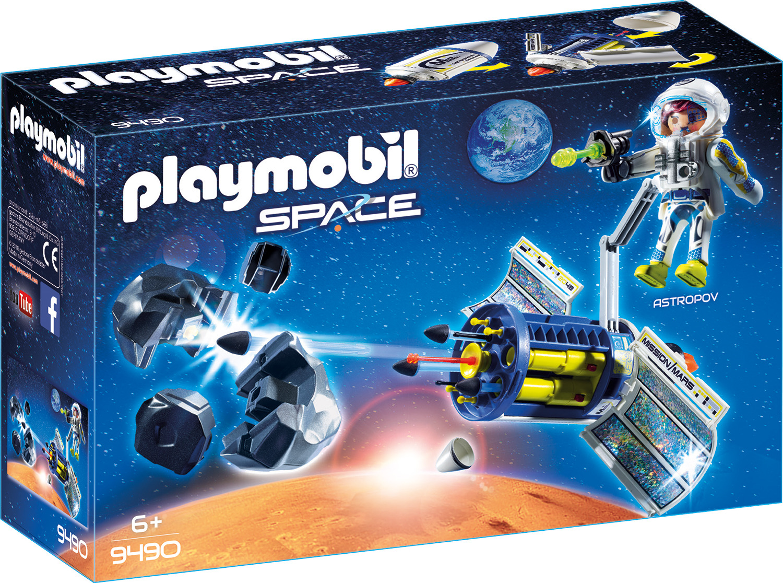 Пластиковый конструктор Playmobil Космос Спутниковый Метеороидный Лазер, 9490pm