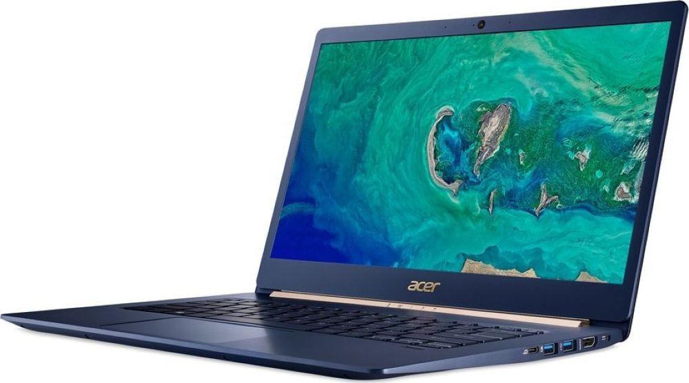 14 Ноутбук Acer Swift 5 SF514-53T NX.H7HER.006, синий как проверить ноутбук