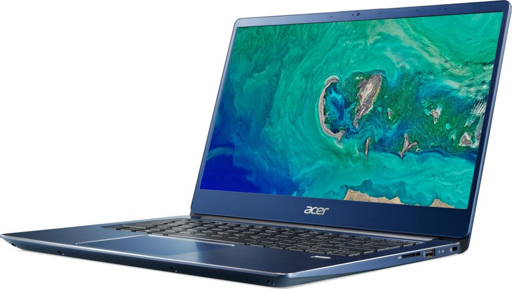 14 Ноутбук Acer Swift 3 SF314-54G NX.GYJER.001, синий ноутбук acer swift 3 sf314 54 nx gyger 009 14 синий