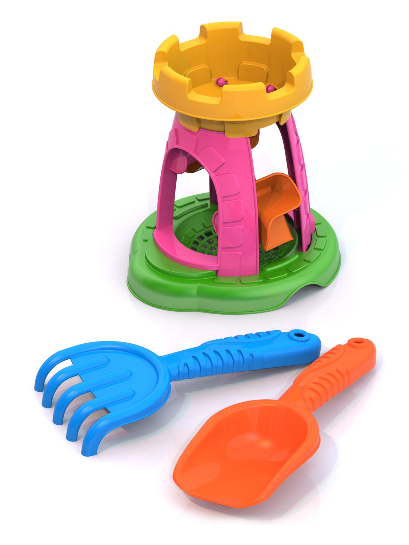Игровой набор Нордпласт 431792 зеленый,розовый, желтый зеленый, розовый, желтый цена