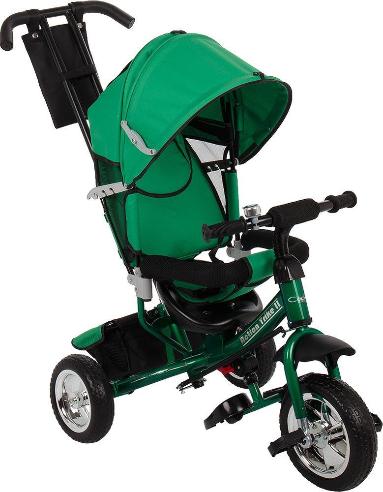 Велосипед детский Capella Action Trike II, зеленый
