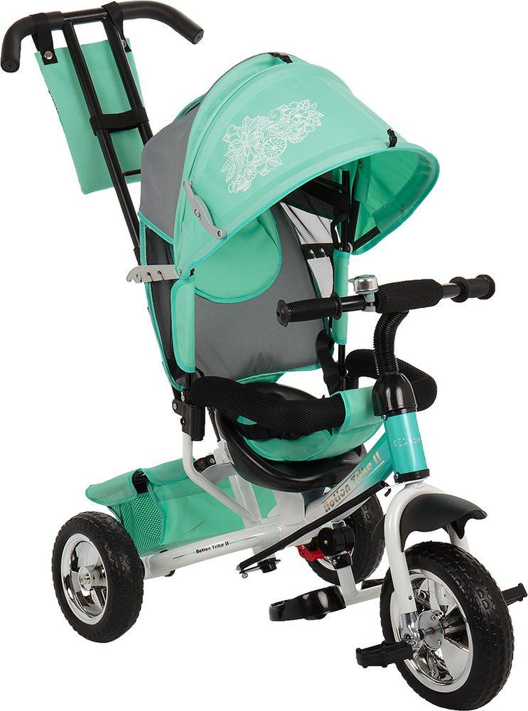 Велосипед детский Capella Action Trike II, мятный