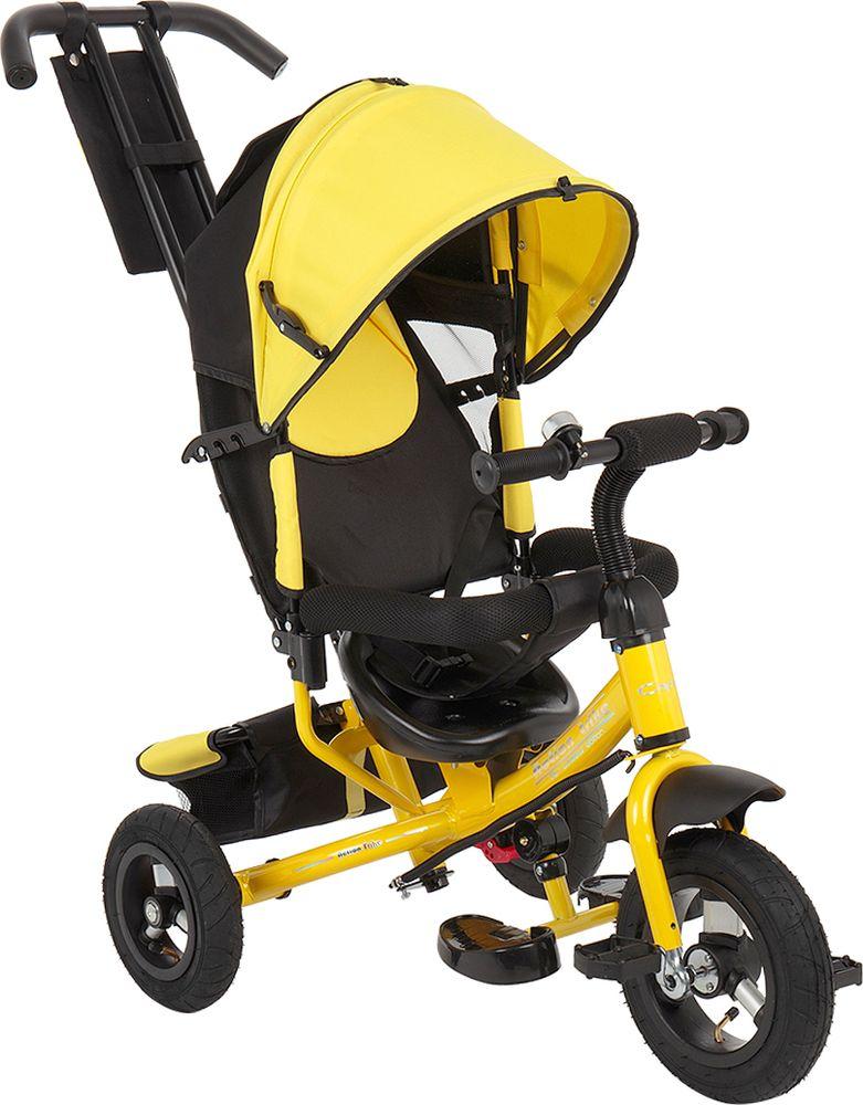 Велосипед детский Capella Action Trike A, желтый, черный
