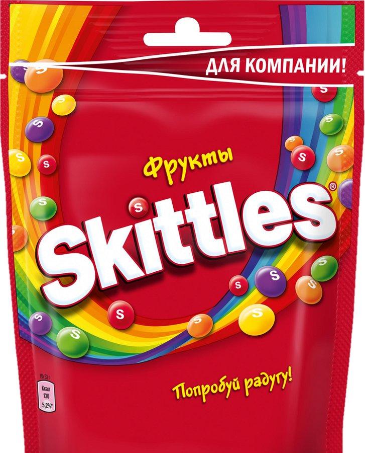 лучшая цена Жевательные конфеты в глазуриSkittles Pouch