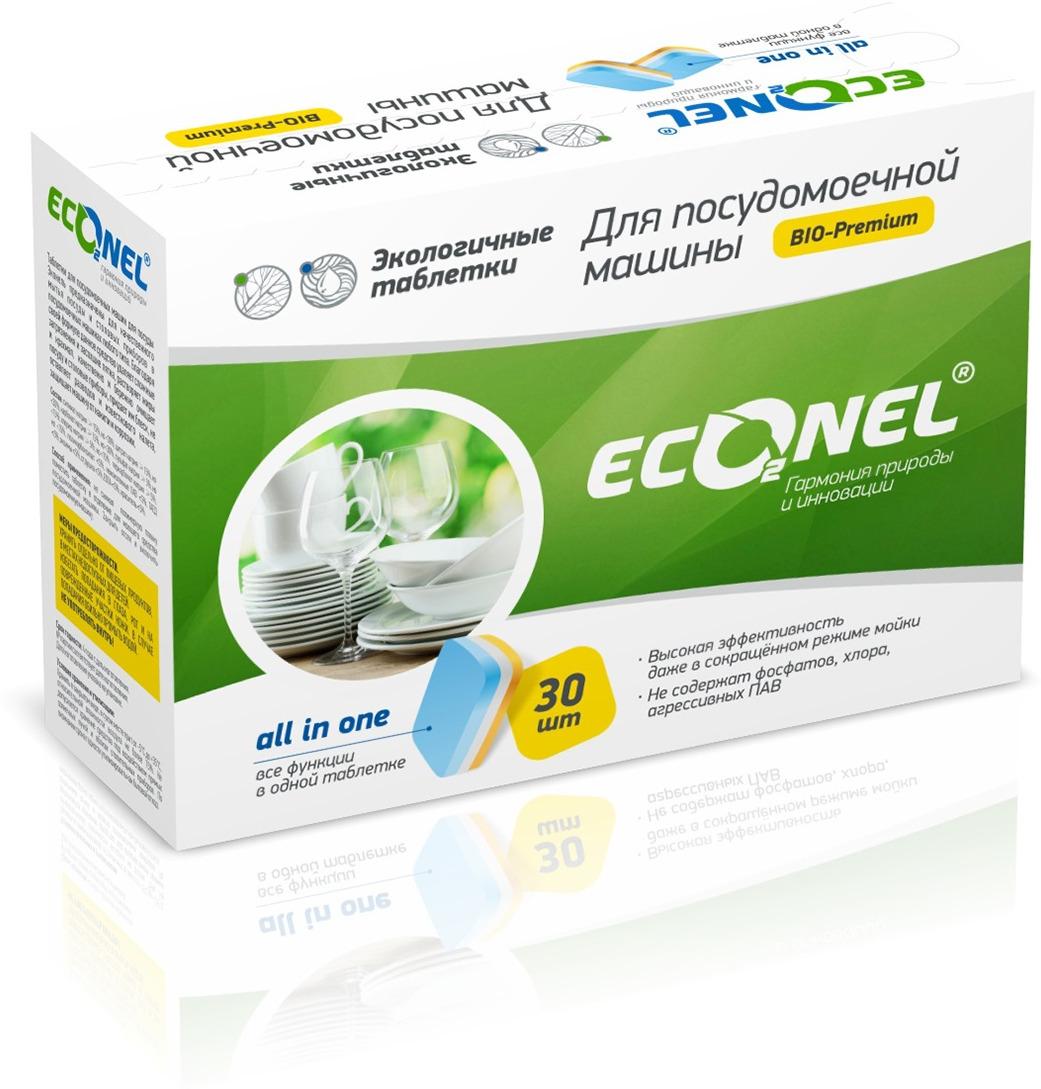 Таблетки для посудомоечной машины La Chista Econel, 30 шт компливит кальций д3 30 таблетки мятные