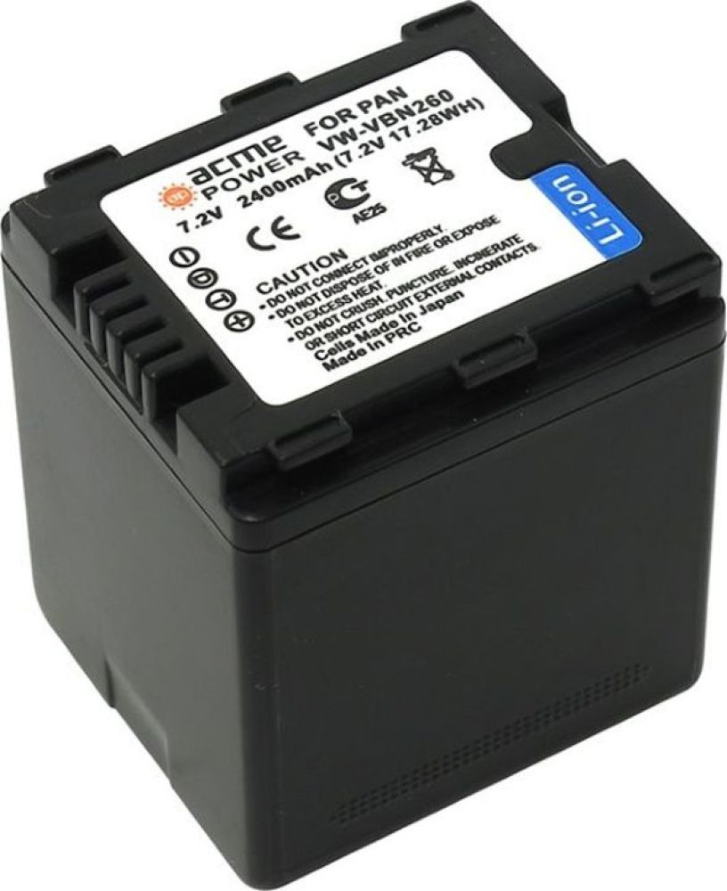 Фото - Аккумулятор для видеокамер AcmePower для Panasonic HC-X800/X900/X900M/X910/X920/X920M HDC-HS900/SD800/SD900/TM900, AP-VBN260 аккумулятор для компактных камер и видеокамер acmepower ap du14