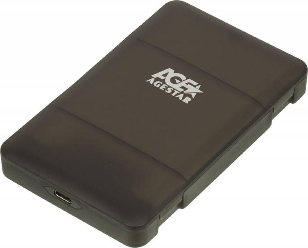 цена на Внешний корпус для HDD/SSD AgeStar 31UBCP3, черный