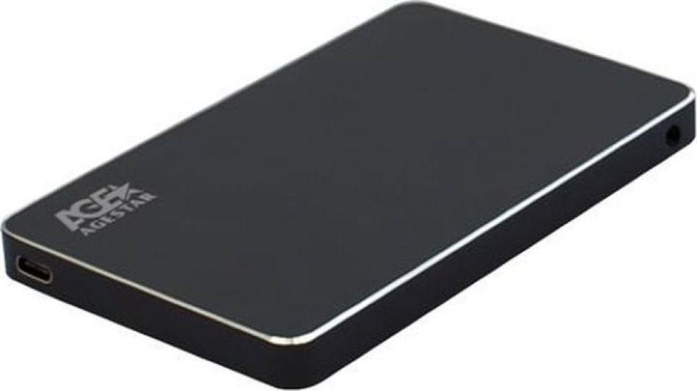 Внешний корпус для HDD/SSD AgeStar 3UB2AX2, черный