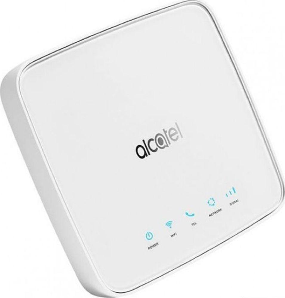 Интернет-центр Alcatel Link, HH70VH-2BALRU1-1, белый usb модем alcatel link zone роутер mw40v 2balru1 белый