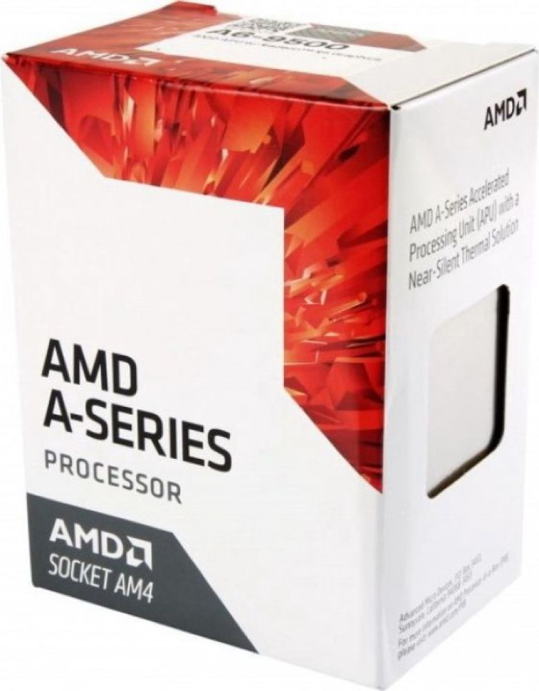 Процессор AMD A6 9500 AM4, AD9500AGABBOX