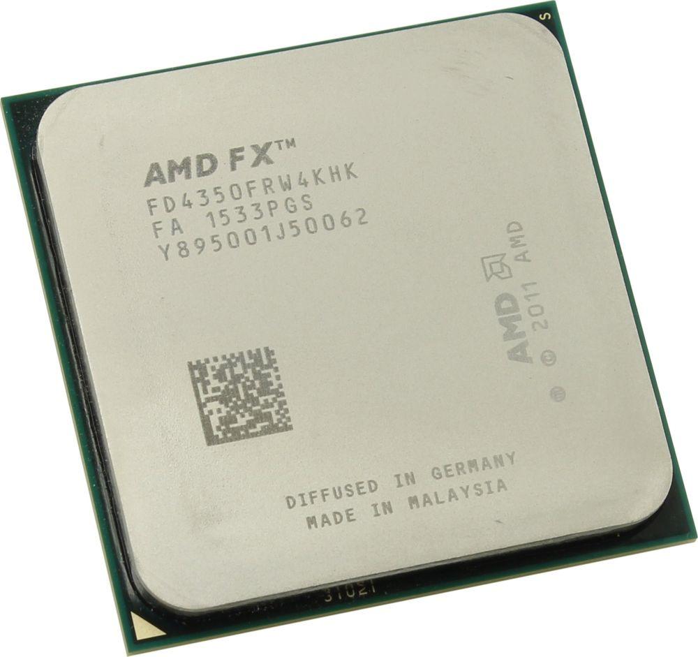 Процессор AMD FX 4350 AM3+, FD4350FRHKBOX