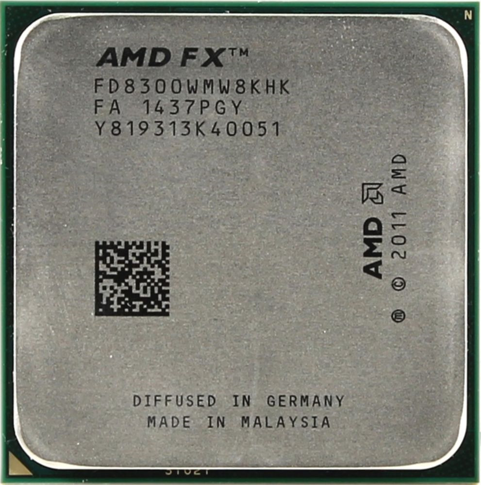Процессор AMD FX 8300 AM3+, FD8300WMHKSBX amd x8 fx 8320e tray