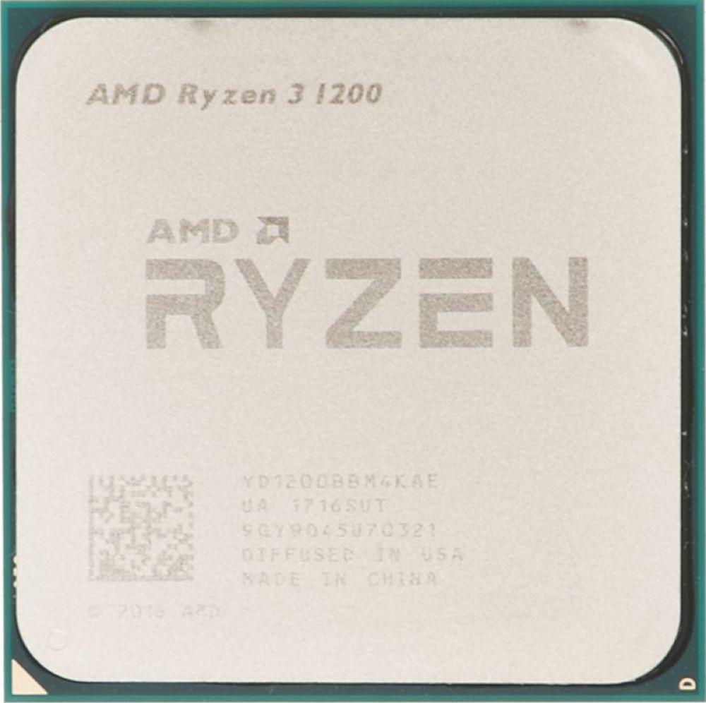 Процессор AMD Ryzen 3 1200 AM4, YD1200BBAEBOX