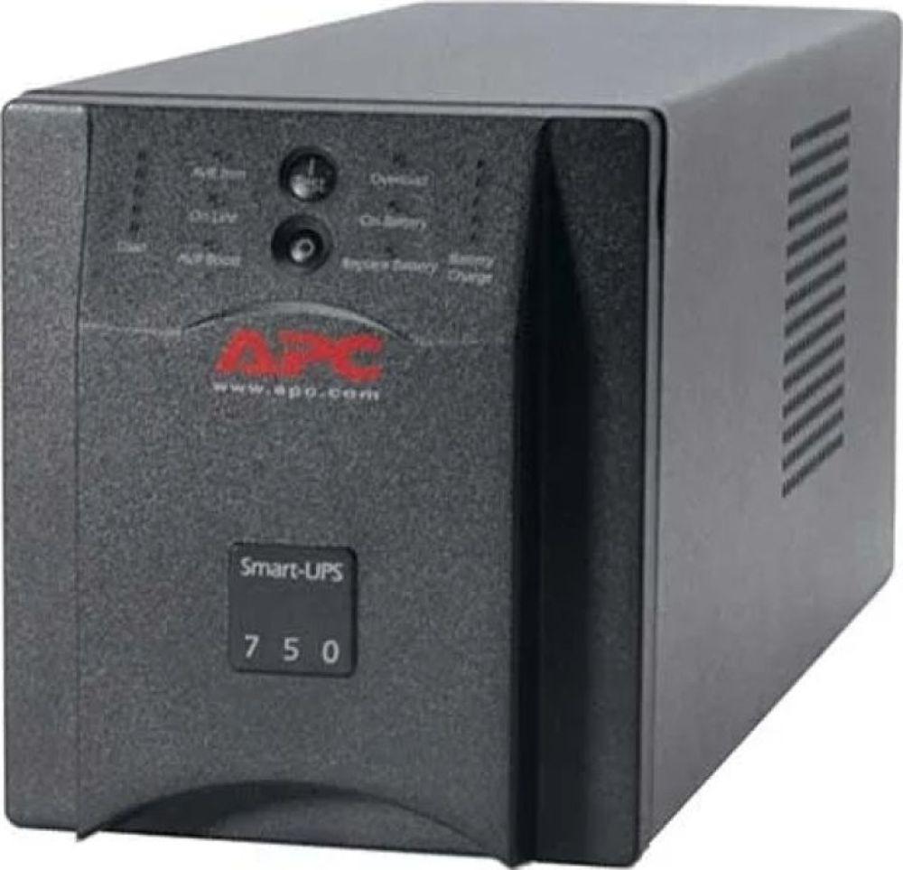 Источник бесперебойного питания APC Smart-UPS, SUA750I источник бесперебойного питания 220в 1500ва smt1500rmi2u