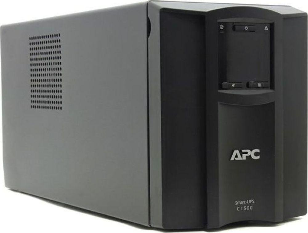 Источник бесперебойного питания APC Smart-UPS C, SMC1500I источник бесперебойного питания apc smart ups rt 5000va 230v