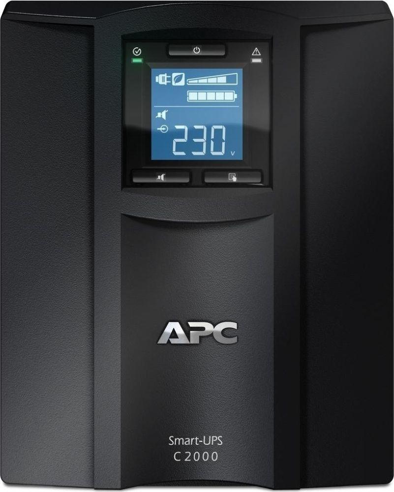 Источник бесперебойного питания APC Smart-UPS C, SMC2000I-RS источник бесперебойного питания в стойку 19