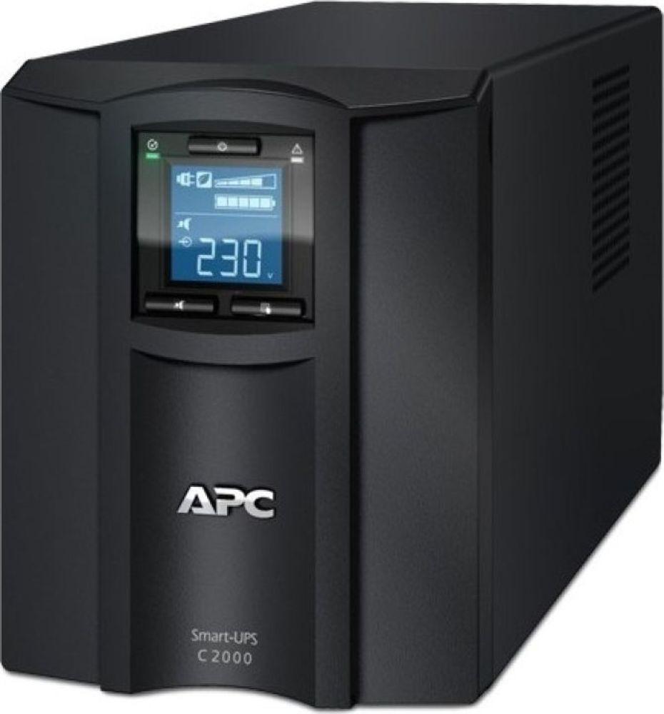 Источник бесперебойного питания APC Smart-UPS C, SMC2000I источник бесперебойного питания apc smart ups sua750rmi1u 750вa