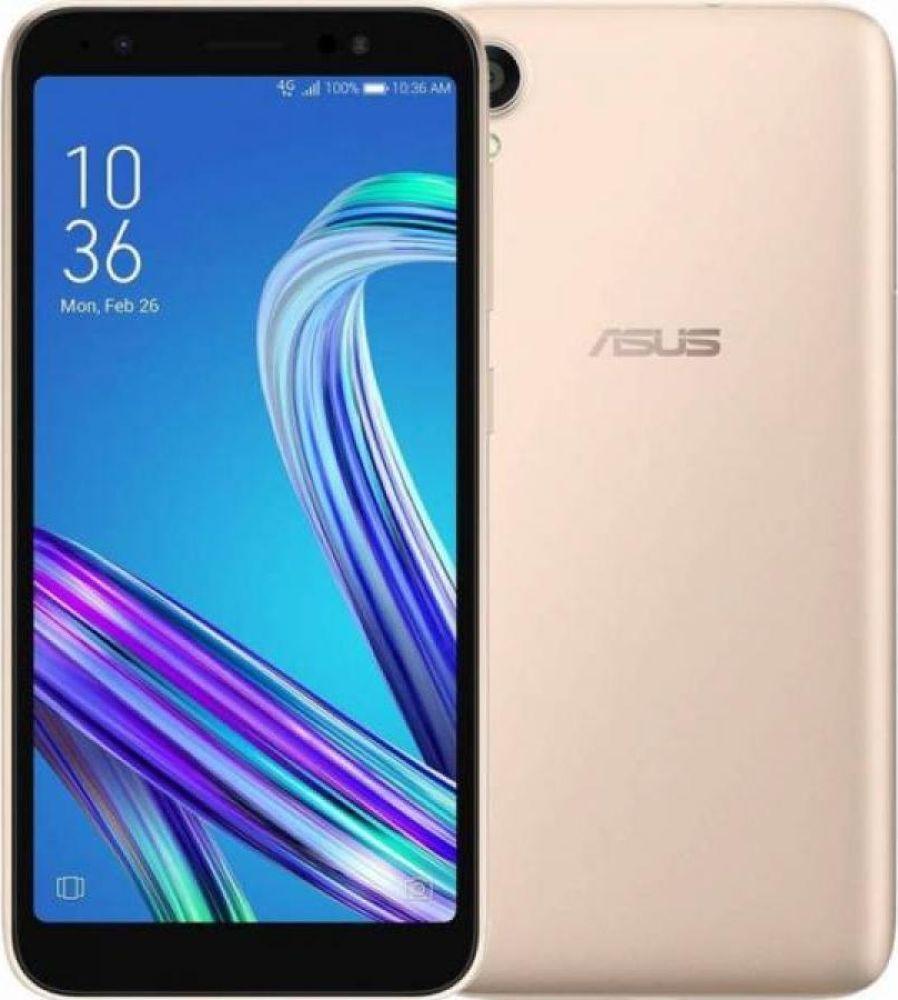 Смартфон Asus Zenfone Lite L1 2/32GB gold смартфон motorola xt1925 5 g6 32gb 3gb синий моноблок 3g 4g 2sim 5 7 1080x2160 android 8 0 12mpix 802 11abgnac bt gps gsm900 1800 gsm1900 touchsc ptotect mp3 a gps microsd max128gb