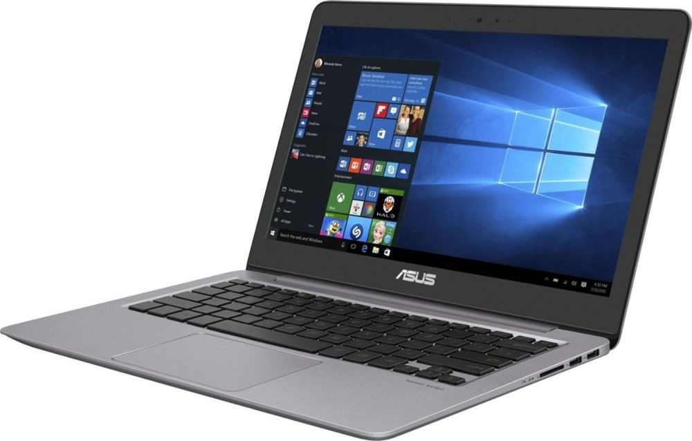 13.3 Ноутбук ASUS ZenBook UX310UA 90NB0CJ1-M18550, серый ноутбук asus zenbook ux330ua fc296t 90nb0cw1 m07970