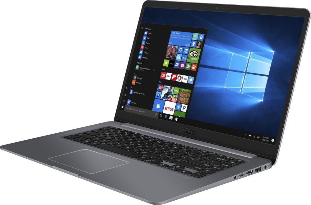 Ноутбук ASUS VivoBook S15 S510UF, 90NB0IK5-M10800, 15.6, серый ноутбук 10 дюймов