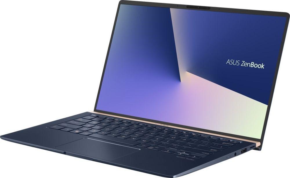 14 Ноутбук ASUS ZenBook UX433FA 90NB0JR1-M01380, темно-синий