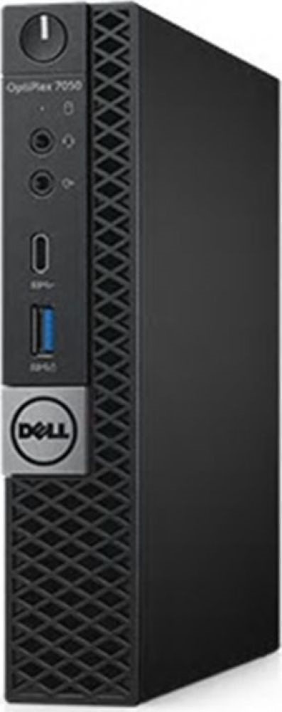 Системный блок Dell Optiplex 7060 Micro, 7060-7724, черный системный блок dell optiplex 7060 sff 7060 7717 черный серебристый
